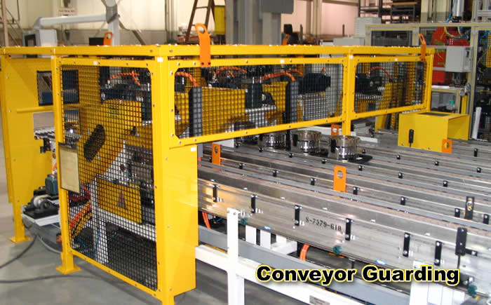 Weld Wire Expanded Steel Mesh Screen Osha Machine Amp Robot