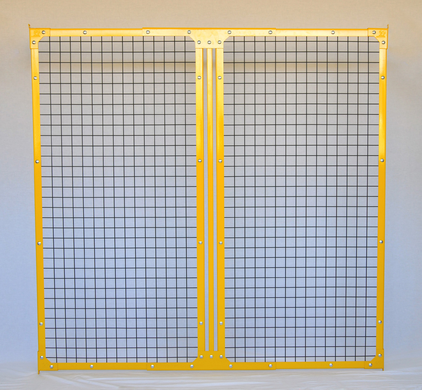 2900mm 2x2 Welded Steel Mesh Panels | Industrial Guarding
