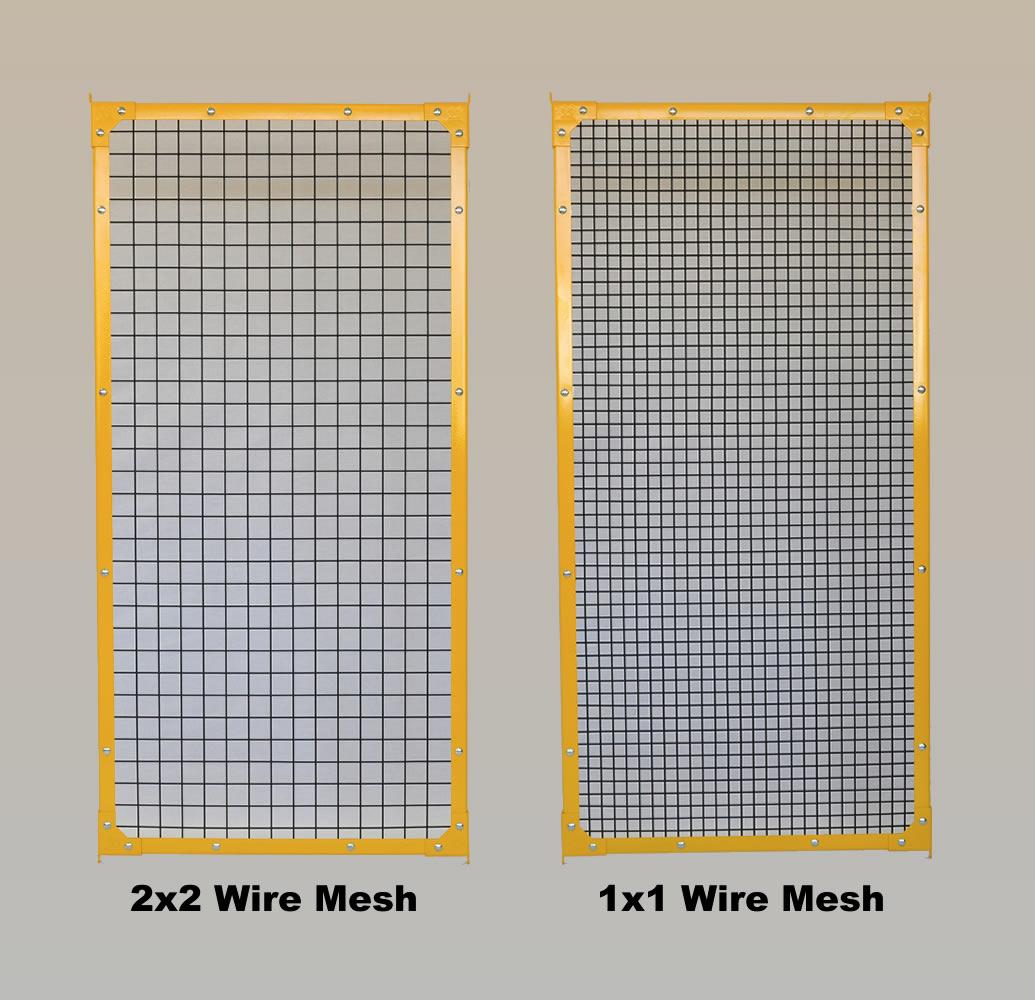 2x2 Steel Mesh & 1x1 Mesh Sample
