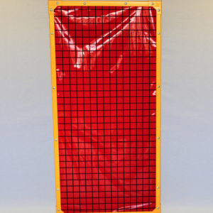 1700 Red Weld Screen Panels