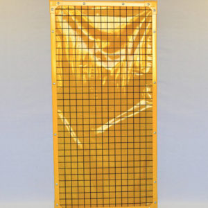 1700 Yellow Weld Screen Panels
