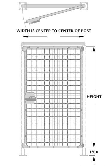 RH Hinge Gate Diagram